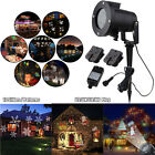 Christmas LED Laser Projector Light In/Outdoor Garden Xmas Partry Lamp 12 Slides