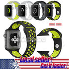 US Silicone Replacement Sports Bracelet Strap Band for Apple Watch Series 2 /1