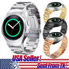TX New Stainless Steel Watch Band + Connector for Samsung Galaxy Gear S2 SM-R720