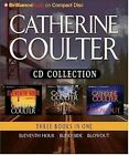 Eleventh Hour - Blindside - Blowout by Catherine Coulter (CD, Abridged) NEW