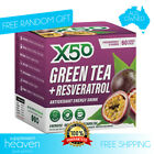 X50 Green Tea 60 Serve Tribeca Health Weight Loss + Free Potato Chips