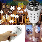4W E27 LED Projection Rotating Stage Bulb Christmas Disco Party Ball Light Lamps