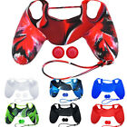 Rubber Protective Skin Cover Case for Playstation PS4 Controller Gamepad Dulcet