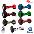 "UL 2272 Cert 10"" Self Balancing 2 Wheel Electric Scooter w/ Front LED Bluetooth"