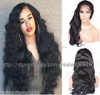 Wavy 100% Brazilian Human Hair Lace Wigs Full Lace/Lace Front Wigs 180% density