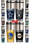NFL,NBA,MLB Team 360 Wrap Travel Tumbler Coffee Mug Cup image
