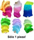 Various designs 1PIECE right hand 18m09m belly dance silk fan veil+bag