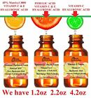VITAMIN C,E HYALURONIC FACIAL SERUM 10,15,20,25,30%C/ Matrixyl 3000,FERULIC ACID image