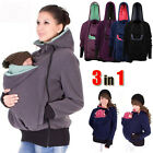 Kangaroo Winter Baby Carrier Jacket Maternity Outerwear Coat for Pregnant Women