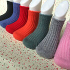 5 Pairs Lot Baby Toddler Boys/Girls Kid 98 Cashmere Wool Thick Warm Soft Socks