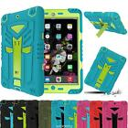 Shockproof Hybrid Rugged Armor Hard Case Cover with Kickstand For iPad Air mini