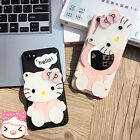 Hello Kitty Silicon Cover Case For iPhone 6/6S Plus 7 plus with Mirror Gift Cute