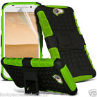 Heavy Duty Shockproof Protection Hard Builder Phone Case✔HTC Desire 650 <br/> Rugged ShockProof Drop Protection Waffle Reinforced