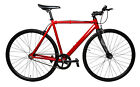LoCal Bike Elysian Single Speed Fixed Track Fixie Complete Bicycle Red SM MD LG