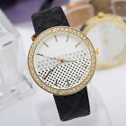Lattice Dial Rhinestone Ladies wrist watch for Women Girls