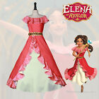 Elena of Avalor Disney Princess Cosplay Costume Elena Adventure Dress Classic