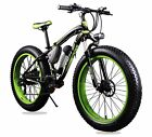 Updated 21 Speed Snow Mens Mountain Bike 350W 36V Electric Bike 17in Shimano TX5
