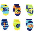 Finding Nemo Dory Baby Boys 6 pack Socks IDK01971