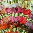 Lots 300 Multi Colors Cotton Cross Floss Stitch Thread Embroidery Sewing Skeins
