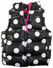 One Step Up Little Girls' Polka Dots Bubble Vest