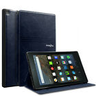 """Folio Leather Smart Cover Case For All-New Amazon Kindle Fire HD 8"""" 2016 6th Gen"""