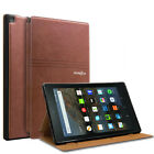 """Folio Leather Smart Cover Case For All-New Amazon Kindle Fire HD 8"""" 2017 7th Gen"""