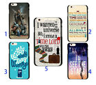 Doctor Who Quote Tardis Soft TPU Case Cover For iphone 6 6S 7 8 Plus 5S S6 S7