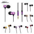 In-Ear Earbud Earphone Headphone Super Bass Stereo Headset For iPhone Samsung