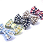 New School Men's AND Women Plaid Checks Bowties England Butterfly Bowknot