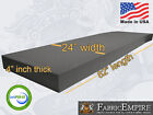 24x82 Firm Rubber Foam Sheet Premium Seats Cushion Upholstery USA MADE - NF33