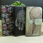 Wind Chimes Girl Skull Wallet Stander flip case cover for Nokia Microsoft Phone