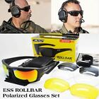 ESS Polarized Tactical Sunglasses UV protection Army Bullet-proof Eyewear Goggle