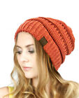 BRAND NEW COLORS CC BEANIE TWO TONE WOMEN CABLE KNIT SUPER CUTE BEANIE UNISEX фото