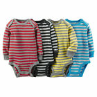 3 4 5-Pack Original Carter's Baby Boy Short Or Long Sleeve Bodysuits Clothes Set