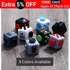 Fidget Cube Stress Relief Toy Adults Children 6+ Focus For ADHD AUTISM Anxiety