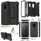 Samsung S9 Plus Note 9 Rugged DEFENDER Case Cover Clip Fits Otterbox Defender