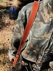 Leather Strap Gun Sling with Swivels -Made in USA-Slings & Swivels - 73977