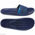 ADIDAS CAROZOON SLIDE NIGHT BLUE MEN'S SLIPPERS BEACH SHOWER POOL  SHOES