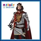 Adult Mens Deluxe Medieval King Arthur Knight Costume