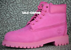 Timberland 6 Inch Premium Suede TB0A148A Pink Rose PS Youth NEW BOX RARE SIZES
