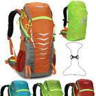 Waterproof 45L Sport  Backpack Rucksack Camping Hiking Bag men women rain cover
