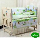 5 Pcs Set 120x70cm Infant Baby Bedding Set
