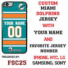 Miami Dolphins NFL Phone Case Cover for LG G5 HTC One m10 Moto E G X etc