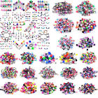 10/30/50/110pcs Bulk Lots Body Piercing Eyebrow Jewellery Belly Tongue Bar Ring