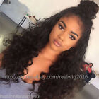 "12""-20"" 100% Indian Remy Human Hair Wig Lace Front Wigs Full Lace Wig Body Wave"