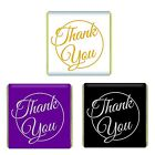 500 Thank You Neapolitan Milk Chocolate Favours Individual Foil Wrapped