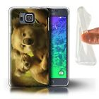 Official Elena Dudina Gel/TPU Case for Samsung Galaxy Alpha /The Animals