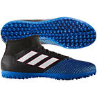 adidas Ace 17.3 Primemesh TF Turf  2017 Soccer Shoes Black / Blue Kids - Youth