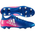 adidas X 16.3 FG 2017 Soccer Shoes Cleats New Blue / Pink / White Brand New