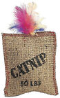 Ethical Products 2984 Jute.Feath Sack Cat Toy
